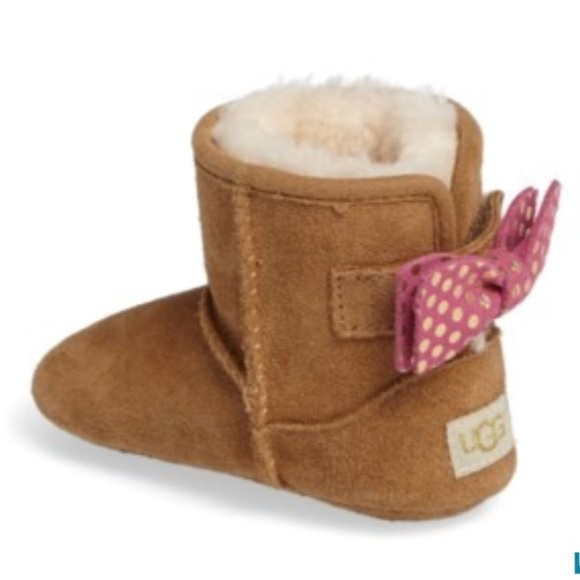 NEW UGG Jesse Bow II Dots Baby Boots
